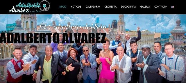 Imagen de la portada de la Web oficial de la orquesta.
