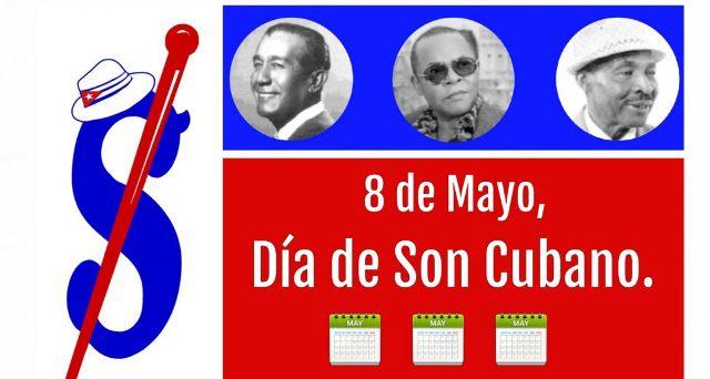 Cartel oficial de la conmemoración del 8 de mayo como Día Mundial del Son. Asociación Benny Moré.